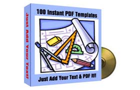 100 PDF Templates