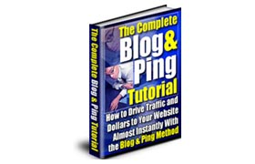 Blog and Ping Tutorial