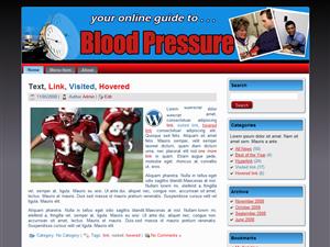 Blood Pressure WP Theme Edition 2