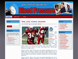 Blood Pressure WP Theme Edition 4