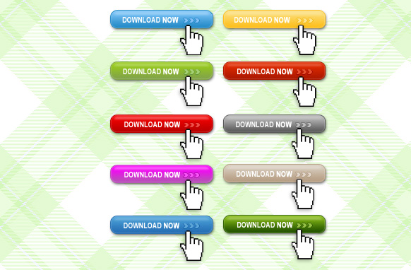 Download Now Buttons PSD