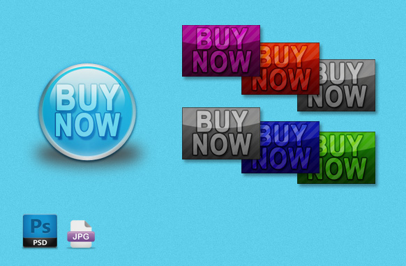 Fancy Style Buy Now Buttons
