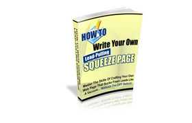 Write Your Own Lead Pulling Squeeze Page