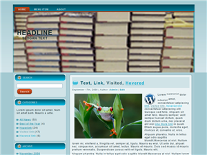 Books WP Theme Edition 2
