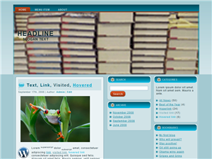 Books WP Theme Edition 5