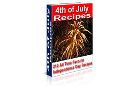 4th of July Recipes Cookbook