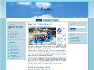 Cloud Raft WP Theme