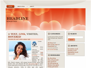 Cloudly Love WP Theme