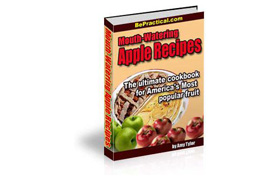 Mouth-Watering Apple Recipes CookBook