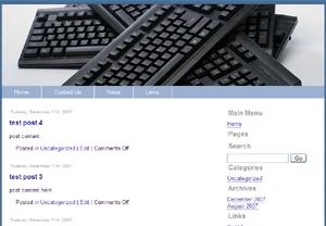 Computing Joomla Template Edition 2