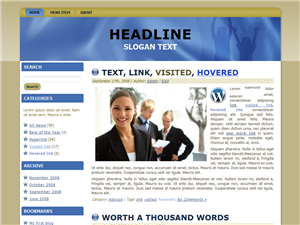 Consulting WP Theme Edition 1