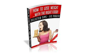 How To Lose Weight with The Right Food