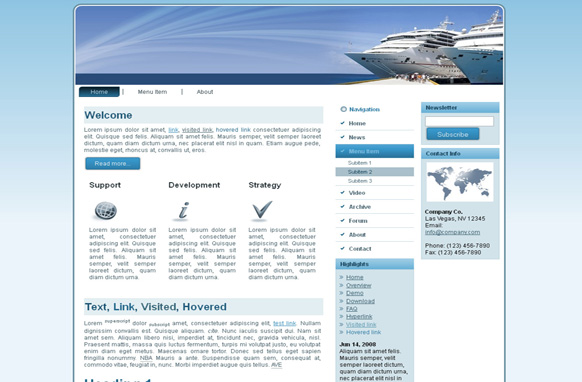 Cruises HTML Template