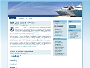 Cruises WP Theme Edition 1
