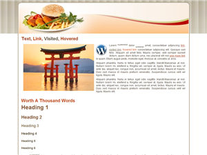 Food WP Theme Edition 2