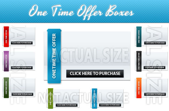 One Time Offer Boxes