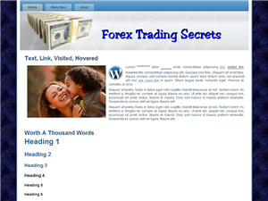 Forex Trading WP Theme Edition 2