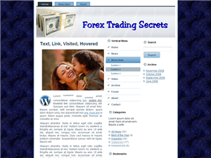 Forex Trading WP Theme Edition 3