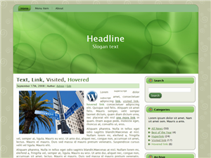 Freah Green WP Theme