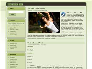 Green Bee WP Theme