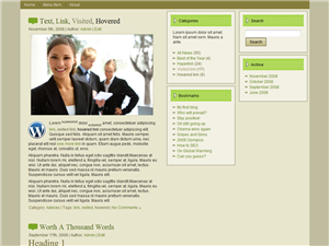 Green Business WP Theme