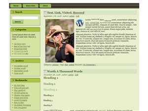 Green Dome WP Theme