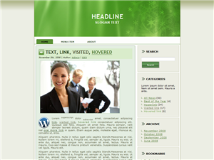 Green Employment WP Theme