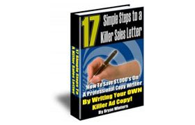 17 Simple Steps To A Killer Sales Letter