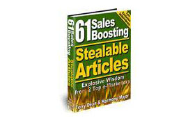 61 Salesboosting Stealable Articles