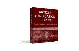 Article Syndicate Script