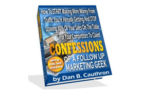 Confessions of a Follow-Up Marketing Geek