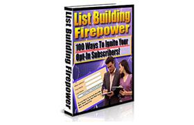 List Building Firepower