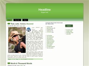 Green Hike WP Theme