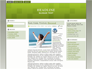Green Joy WP Theme