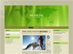 Green Laws WP Theme