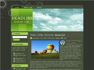 Green Mess WP Theme