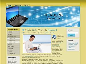 Laptop WP Theme Edition 1