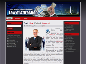 Law Of Attraction WP Theme Edition 4