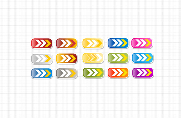 Smooth Arrow Buttons PSD