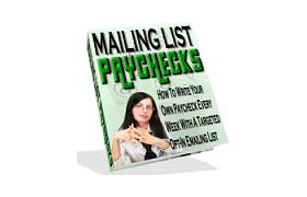Mailing List Paychecks