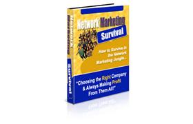 Network Marketing Survival