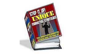 Step It Up – Unique Marketing Strategies