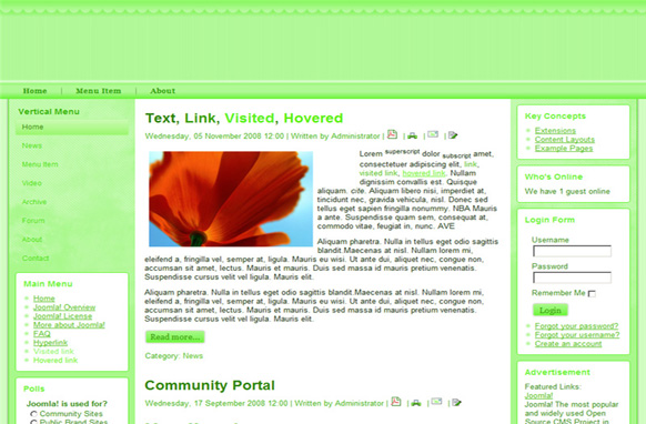 Lime Drupal Theme Edition 1
