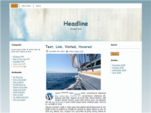 Middle Boat WP Theme