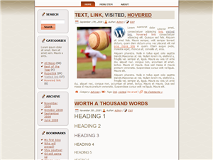Middle Laws WP Theme