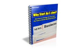 Why Start an E-zine