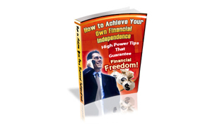 Achieve Your Own Financial Independence