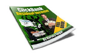 ClickBank Residual Income