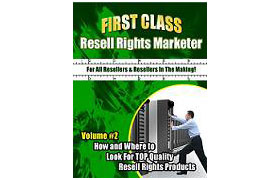 First Class Resell Rights Marketer Vol 2
