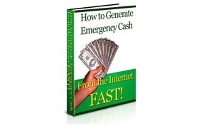 How To Generate Energency Cash From The Internet Fast